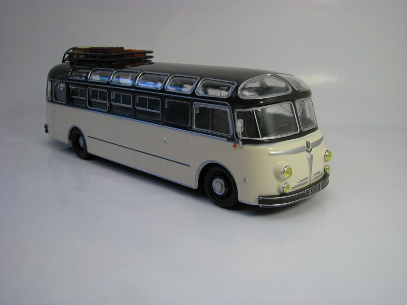 Autobus Isobloc 648DP France 1955 1:43 Atlas